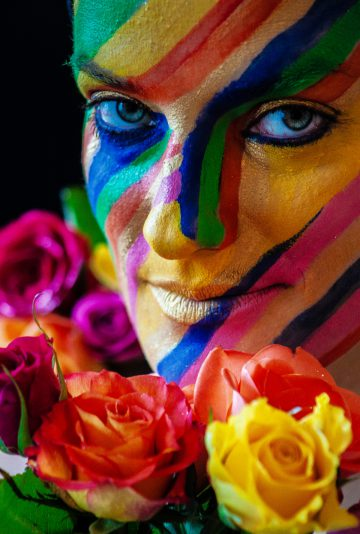 The soul is colorful