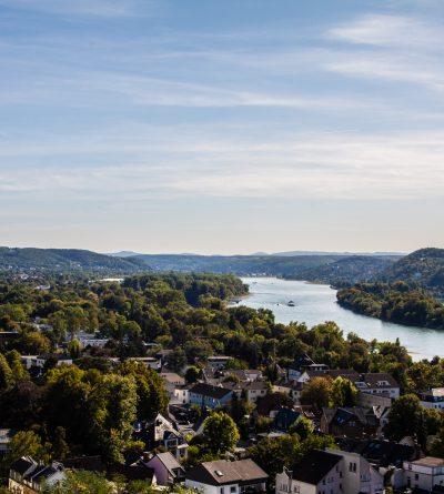 Der Rhein. Bad Honnef. Rhöndorf